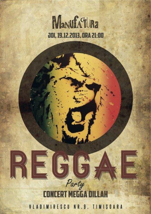 Concert Megga Dillah @ Manufactura