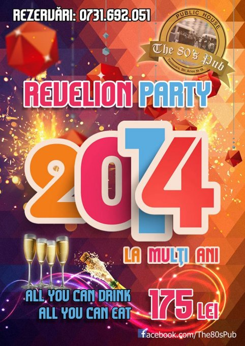 Revelion 2014 in The 80's Pub