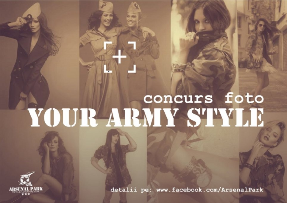 Concurs foto Arsenal Park Your Army Style