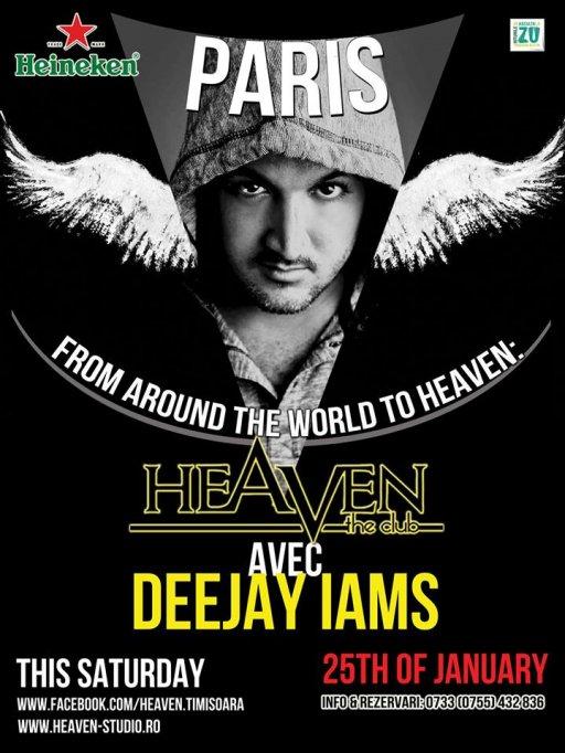 Magie cu Deejay Iams la Heaven