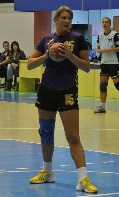 Monica Bahuczki - antrenor handbal
