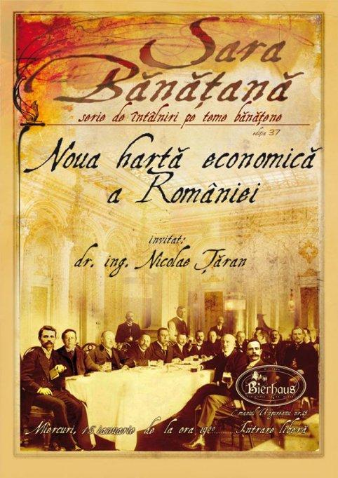 "Sara Banatana - ""Noua harta economica a Romaniei"""