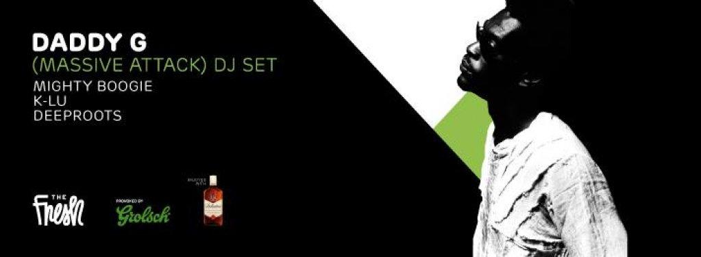 DJ set cu Daddy G (Massive Attack), la Timisoara