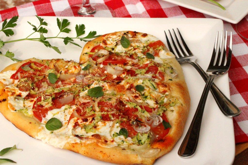 Oferta de Valentine's Day de la Pizza Go