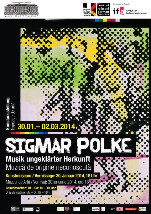 Picture-hopping in cadrul expozitiei Sigmar Polke – Muzica de origine necunoscuta