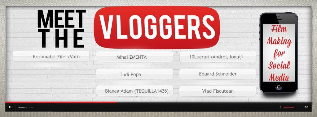 Meet the Vloggers - Film Making For Social Media