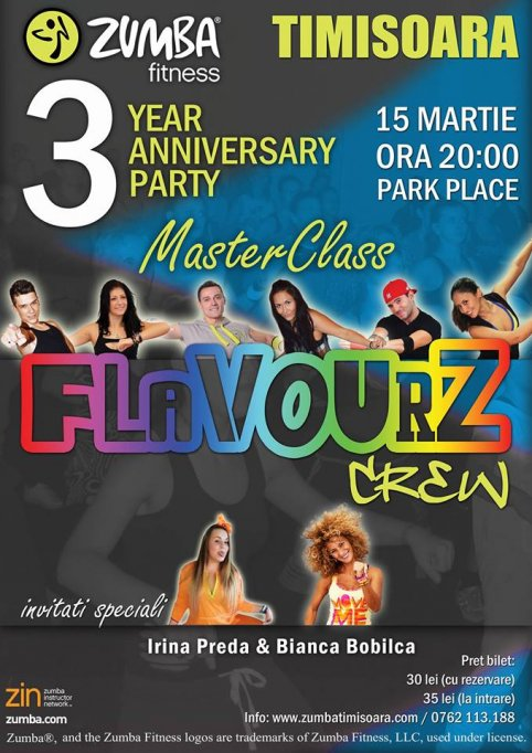 Zumba® Timisoara - 3 Year Anniversary Party