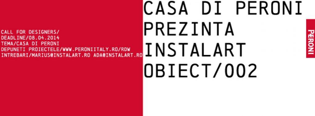 Casa di Peroni prezinta: INSTALART /Obiect 002