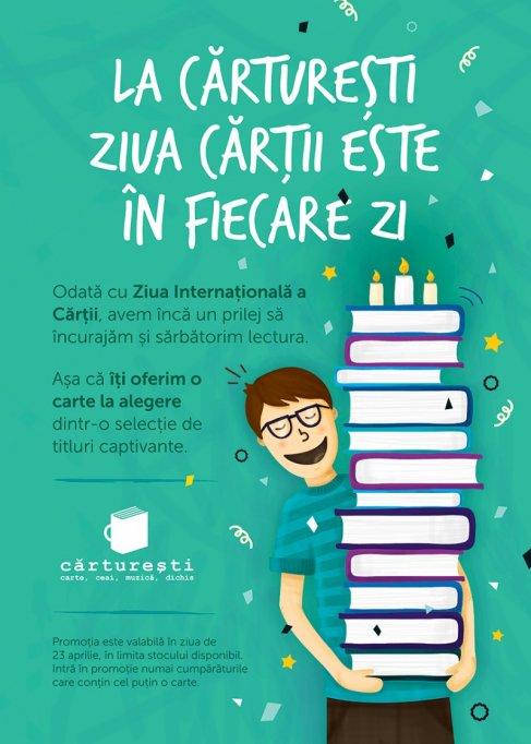 Ziua Internatională a Cartii la Carturesti