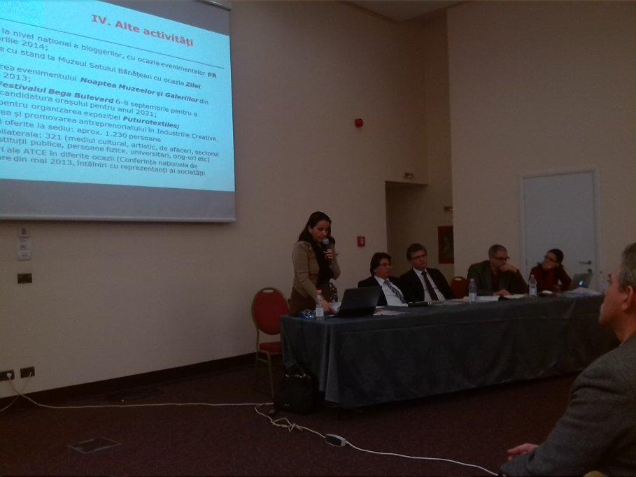 Membrii Asociatiei Timisoara Capitala Culturala Europeana au participat la intalnirea anuala