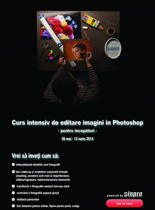 Curs pentru incepatori de editare imagini in Photoshop