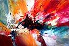 """""""Viu & Pasional"""" cu Dan Bunea - expozitie de pictura abstracta"""