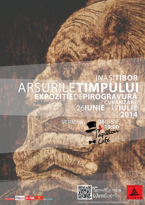 Arsurile timpului - Expozitie de pirogravurarealizata de Inasi Tibor
