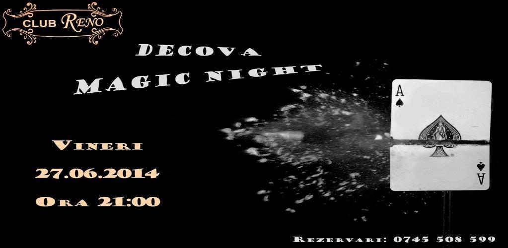 Seara de iluzionism cu Decova