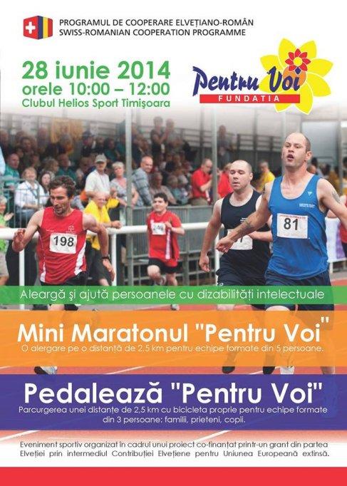 """Mini Maratonul """"Pentru Voi"""""""