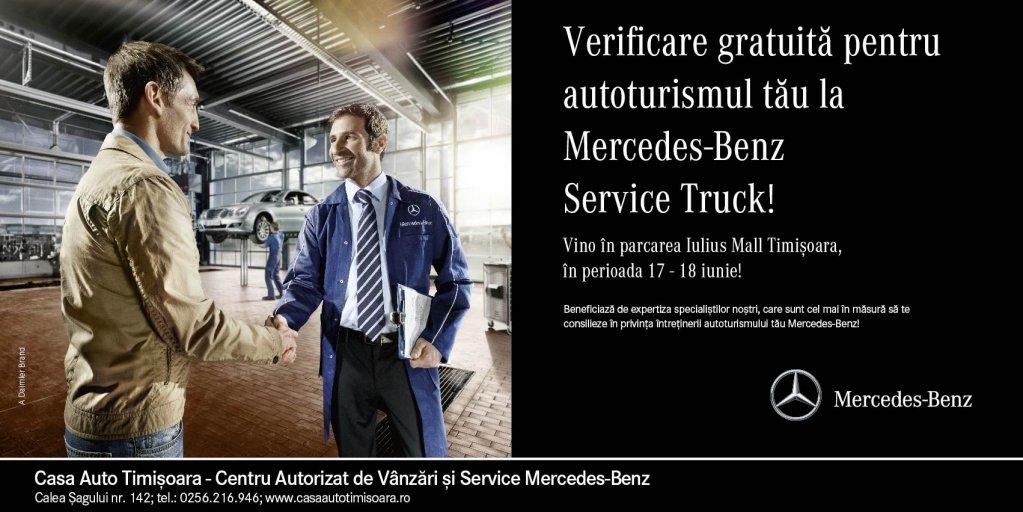 Mercedes-Benz Service Truck