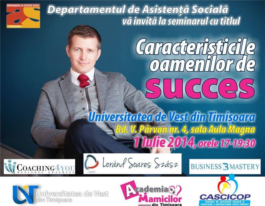 Caracteristicile oamenilor de succes