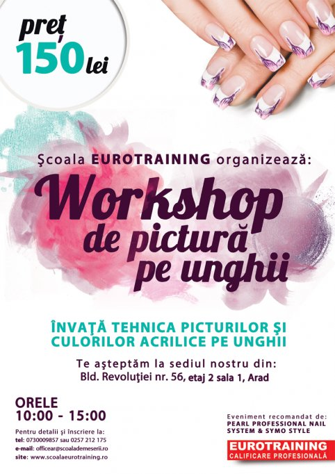 Workshop de pictura pe unghii