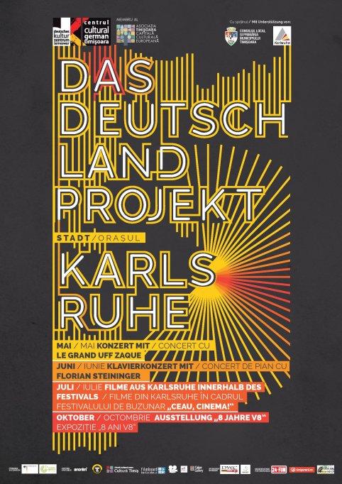 """""""Das Deutschlandprojekt"""": Filme din Karlsruhe în cadrul Festivalului de buzunar """"Ceau, Cinema!"""""""