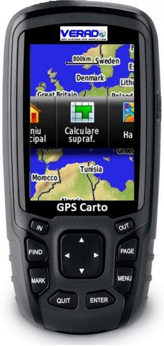 Solutie completa masurare suprafete GPS Carto - precizie metrica