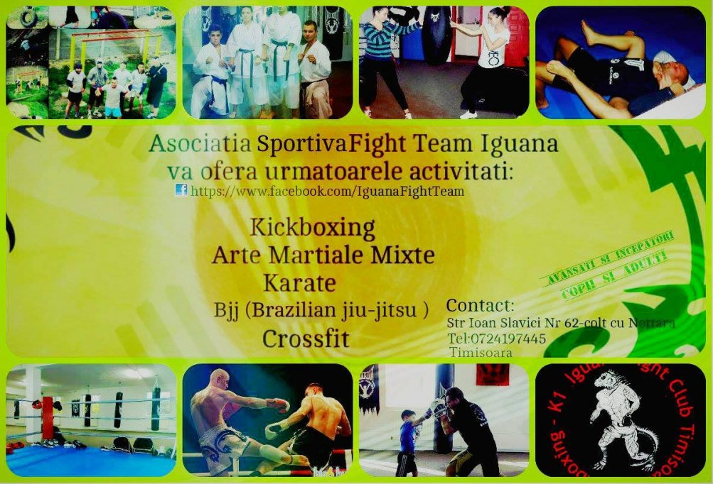 Asociatia sportiva Fight Team Iguana