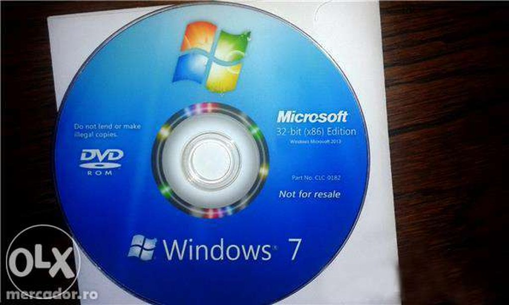 Windows 7 CD/DVD NOU!