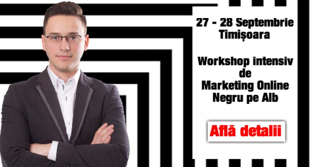 Fostul Director de Marketing de la Trilulilu aduce în Timişoara primul workshop de planificare de Marketing Online