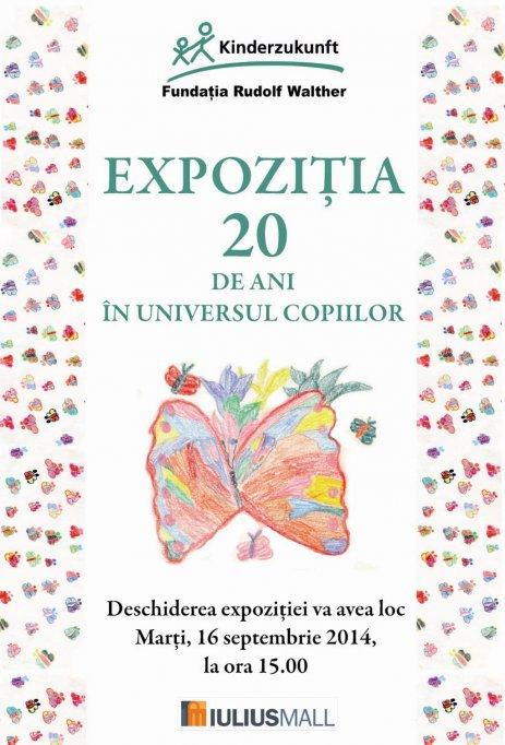 Expozitie de pictura si fotografie cu ocazia aniversarii a 20 de ani de activitate a Kinderzukunft