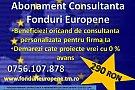 Abonament Consultanta Fonduri Europene