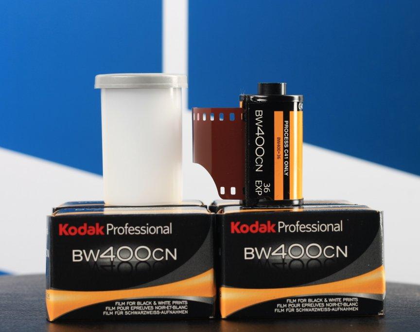 Film foto a/n Kodak Professional BW400CN 135-36!