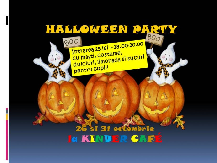 Halloween Party @ Kinder Cafe