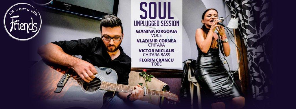 Soul - Live Session la Friends Cafe
