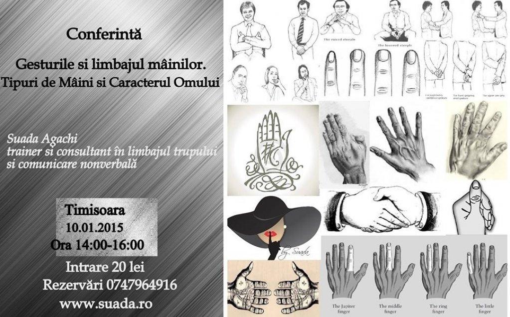 Gesturile si Limbajul Mainilor. Tipuri de Maini si Caracterul Omului