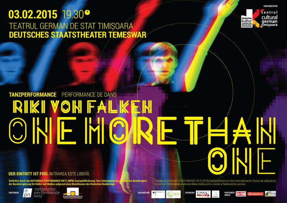 One more than one – Spectacol de dans cu Riki von Falken