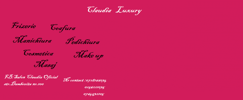 Salon Claudia Luxury