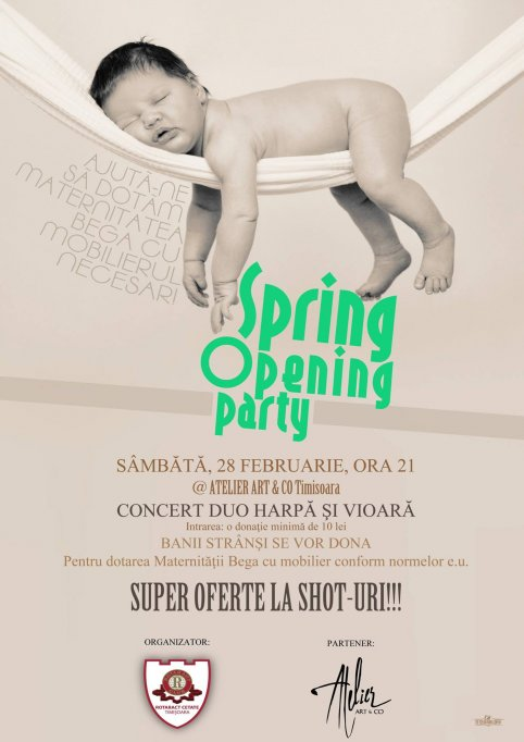 Spring Opening Party