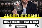 Andrei Ciobanu - stand-up comedy si lansare de carte