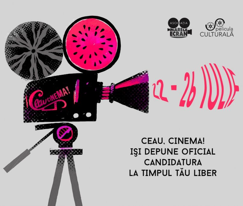 Apel la inscriere in competitia Ceau, Cinema!