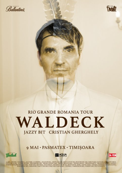 Waldeck full band-Rio Grande Tour Romania 2015