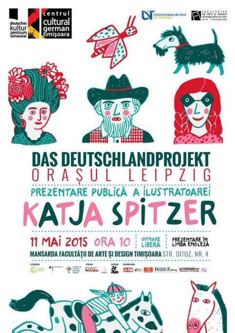 Prezentare si atelier cu ilustratoarea Katja Spitzer