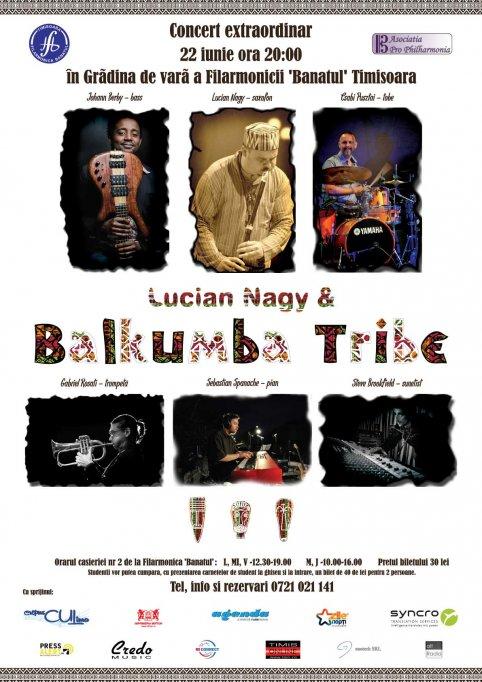 Concert Lucian Nagy & Balkumba Tribe