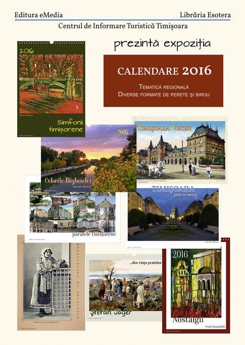 Expozitie calendare tematice 2016