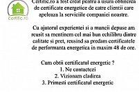 Cum obtii un certificat energetic in Buzias