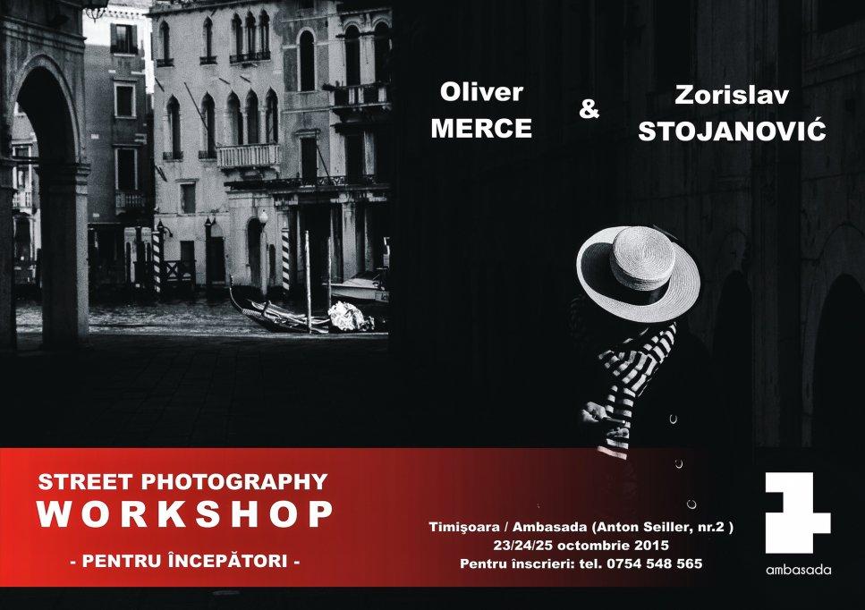 Workshop: Fotografie de Stradă pentru începători