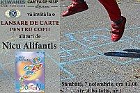 Lansare de carte: Nicu Alifantis la Libraria Cartea de Nisip