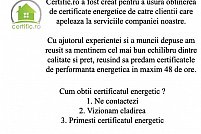Certificat energetic in Resita