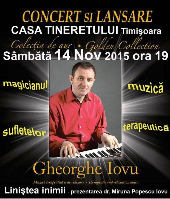 Concert si lansare CD Gheorghe Iovu – Colectia de aur