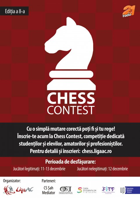 CHESS CONTEST - Sport sau pasiune?