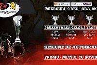 Echipa de rugby Timișoara Saracens RCM își prezintă cele trei trofee câștigate în acest an
