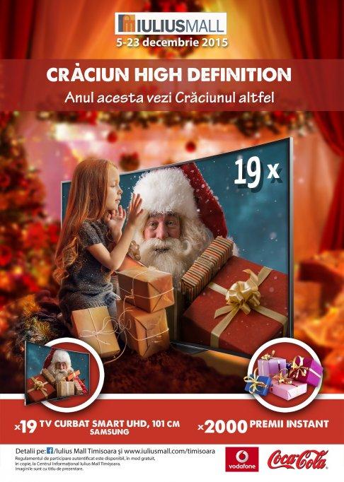 Craciun High Definition la Iulius Mall